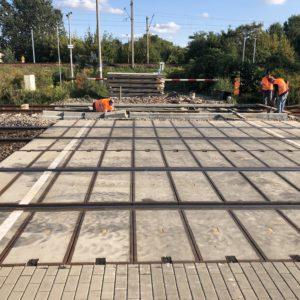 Przebudowa przejazdu kolejowego Warszawa-Włochy